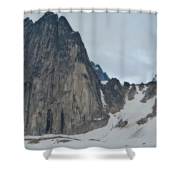 Snowpatch Col Shower Curtain