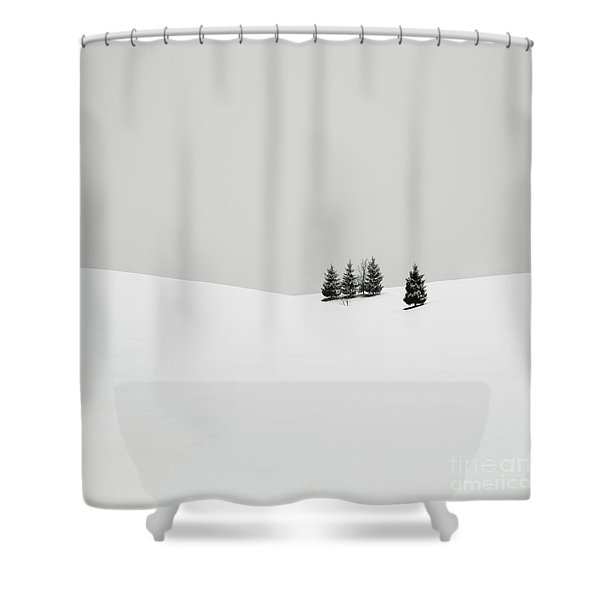 Snowscapes   Almost There Shower Curtain