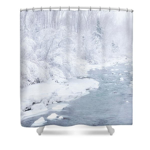 Snowy River Shower Curtain