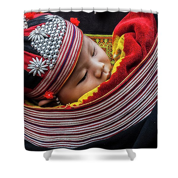 Snug As A Bug. Shower Curtain