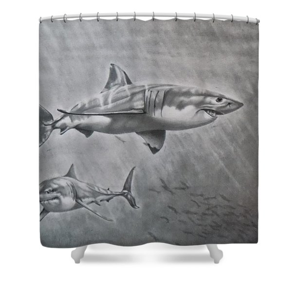 So. Cal Game Fish Shower Curtain