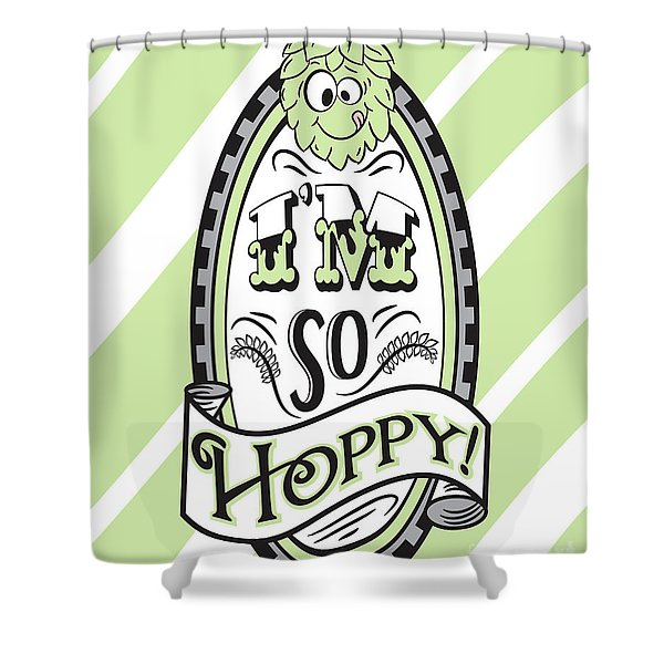 So Hoppy Shower Curtain