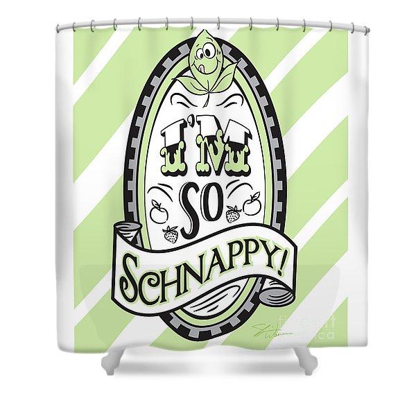 So Schnappy Shower Curtain