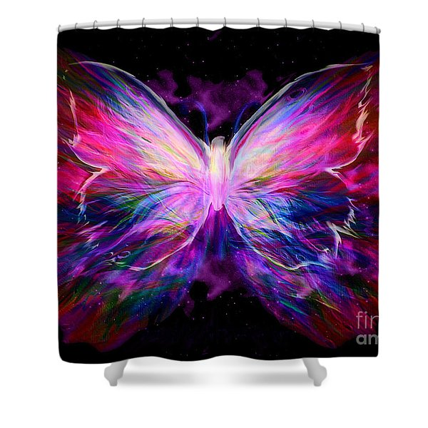 Soaring Love Shower Curtain