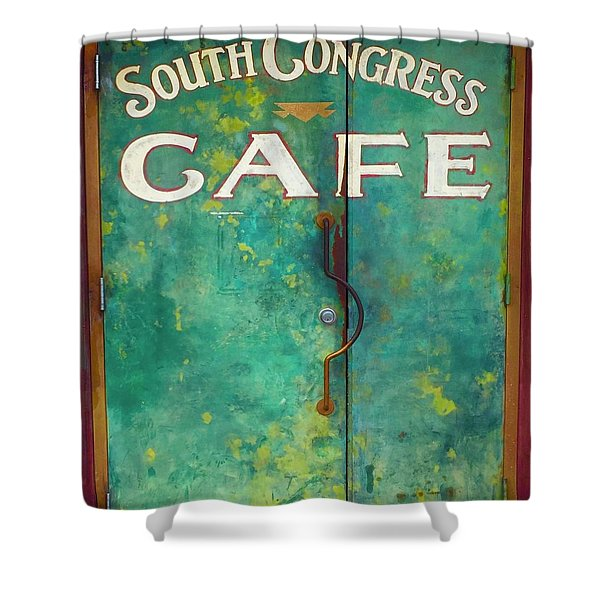 Soco Cafe Doors Shower Curtain