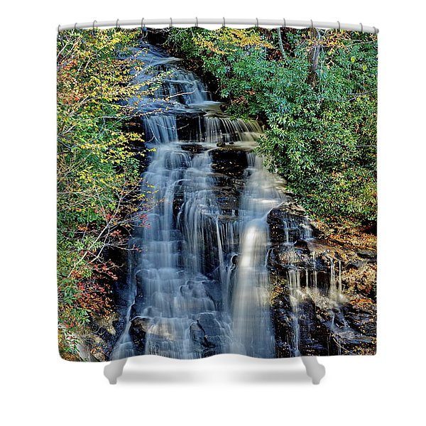 Soco Falls In Fall Shower Curtain