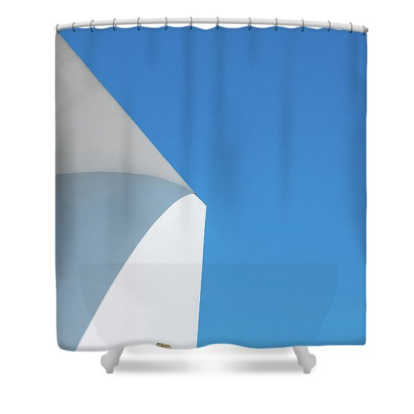 Soft Blue Shower Curtain