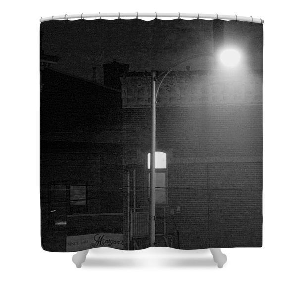 Soft Night Glow Shower Curtain