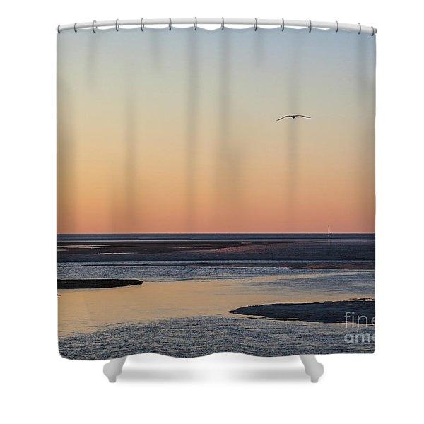 Soft Summer Eve Shower Curtain