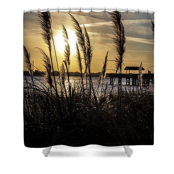 Soft Wind Shower Curtain