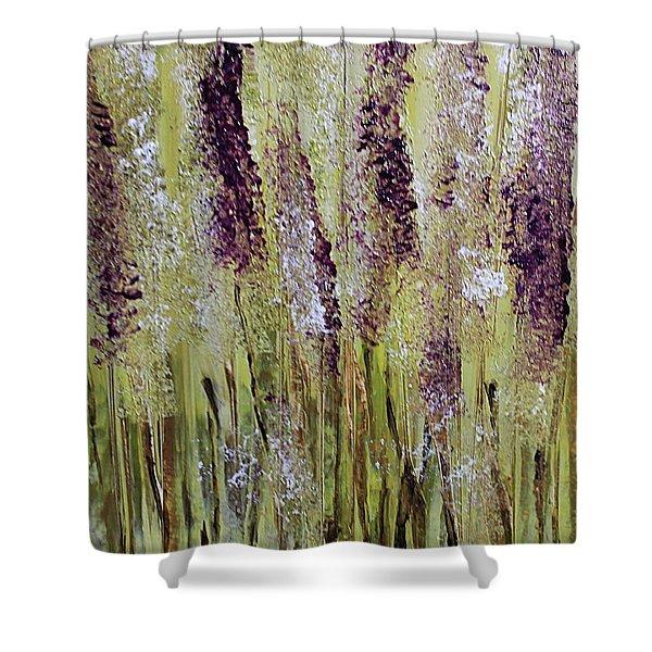Softly Swaying Shower Curtain