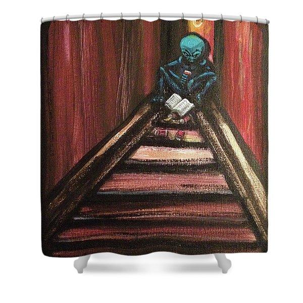Solamente Alien Shower Curtain