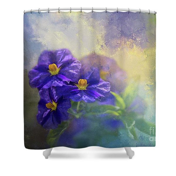 Solanum Shower Curtain