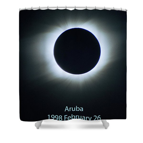 Solar Eclipse Aruba 1998 Shower Curtain
