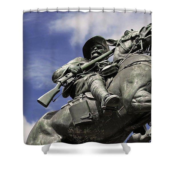 Soldier In The Boer War Shower Curtain