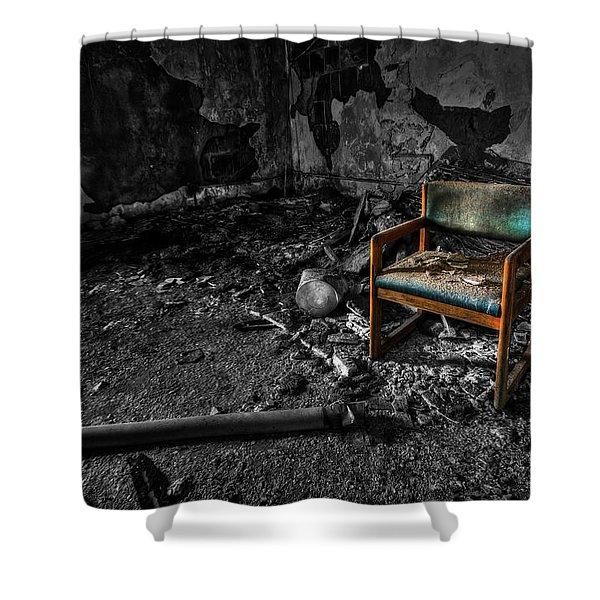 Sole Survivor Shower Curtain