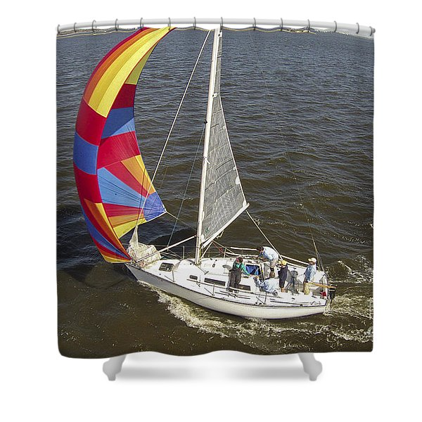 Sole Vento Charleston South Carolina Shower Curtain