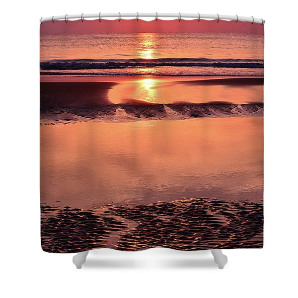 Solemn Reflection Shower Curtain