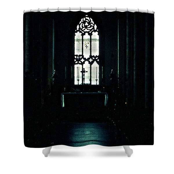 Solemnity Shower Curtain