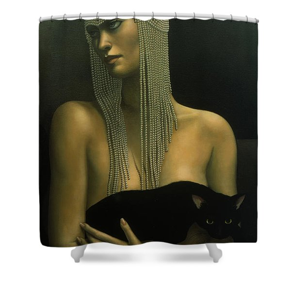 Solitare Shower Curtain