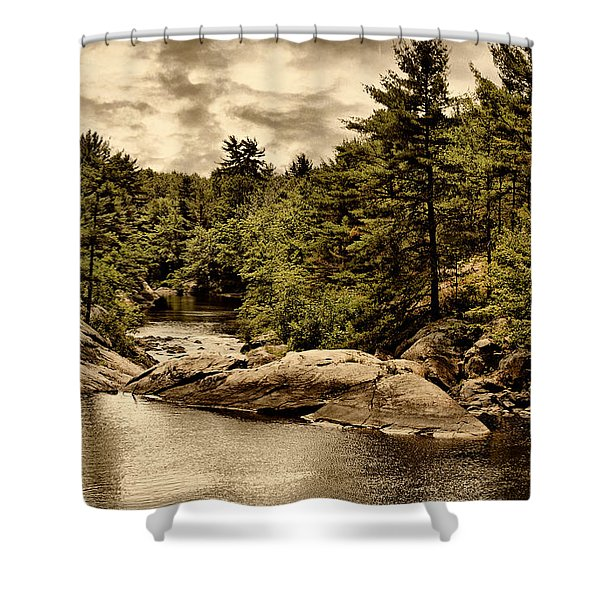 Solitary Wilderness Shower Curtain