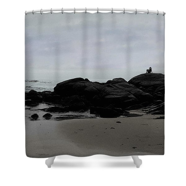 Solitude At Goose Rocks Shower Curtain
