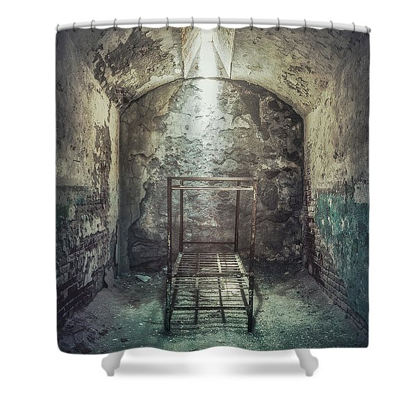 Solitude Of Confinement Shower Curtain