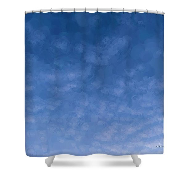 Solstice Dawn Shower Curtain