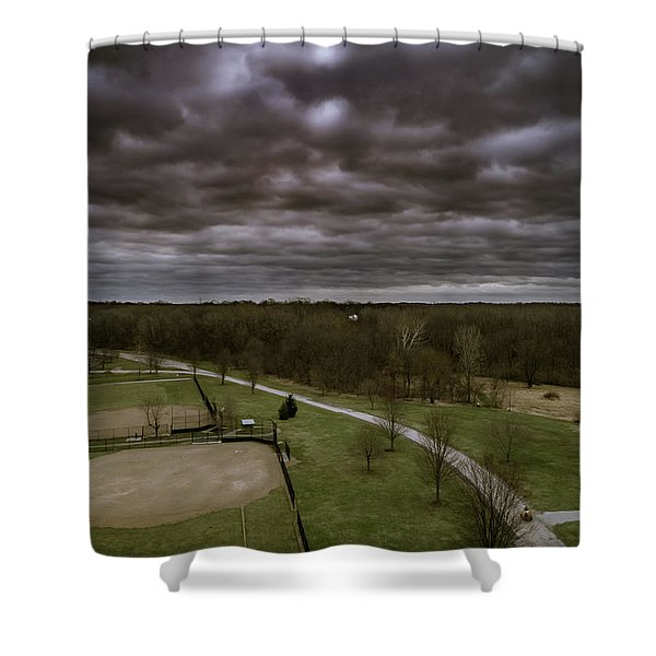 Somber Day Shower Curtain