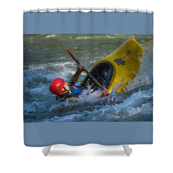 Some Action Shower Curtain