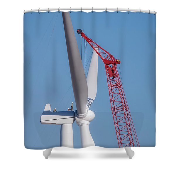 Some Assembly Required Shower Curtain