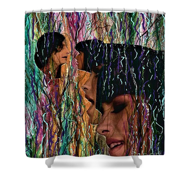 Somebody That I Used To Know  Shower Curtain
