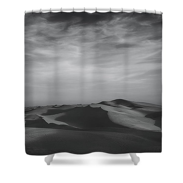 Somehow, Some Way Shower Curtain