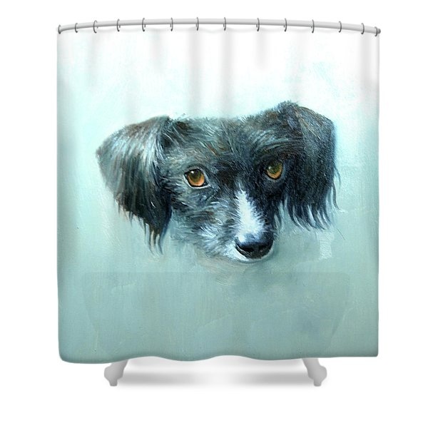 Someones Pet Shower Curtain