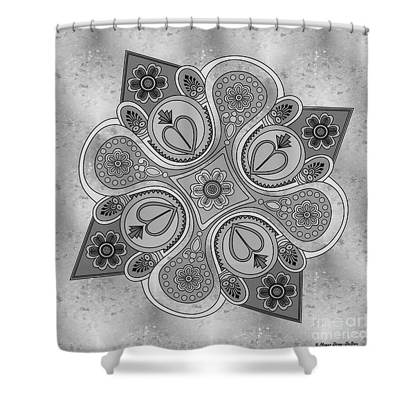 Something2 Shower Curtain