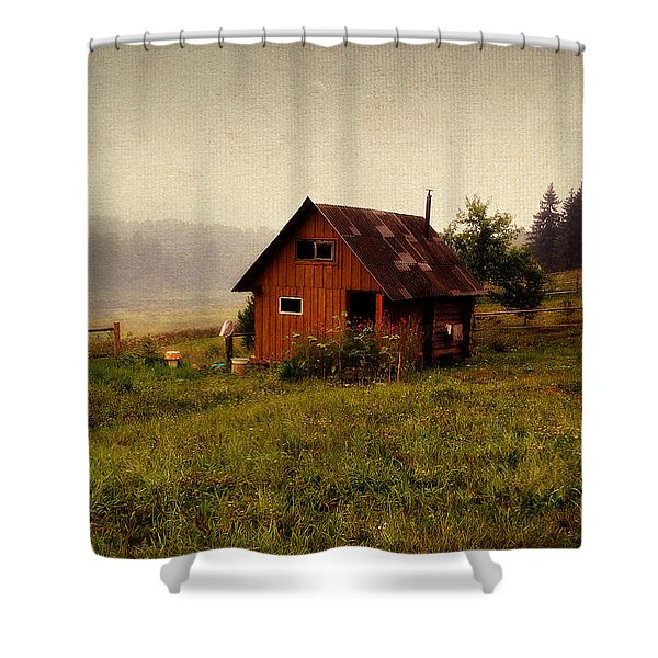 Somewhere In The Countryside. Russia Shower Curtain