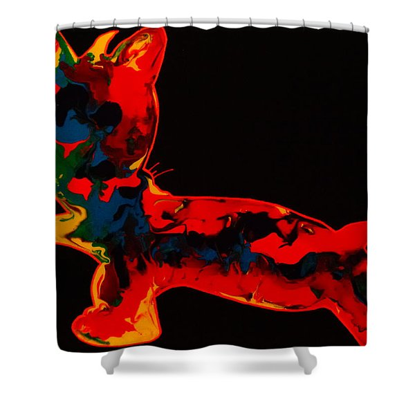 Sonar Shower Curtain