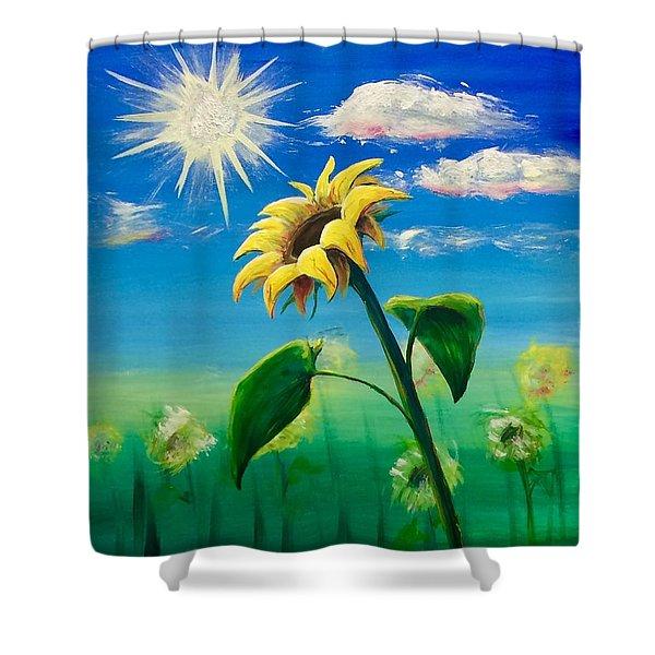 Sonflower Shower Curtain