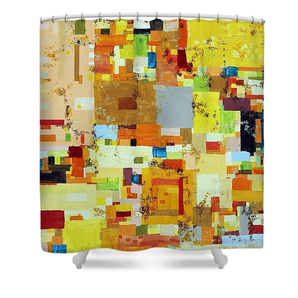 Song Of Solar Fusion Shower Curtain