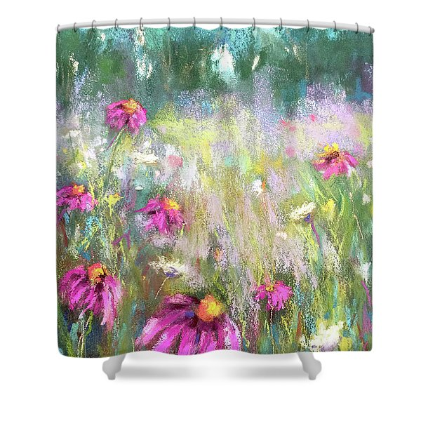 Song Of The Flowers Shower Curtain