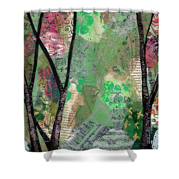 Song Of The Trees I Shower Curtain