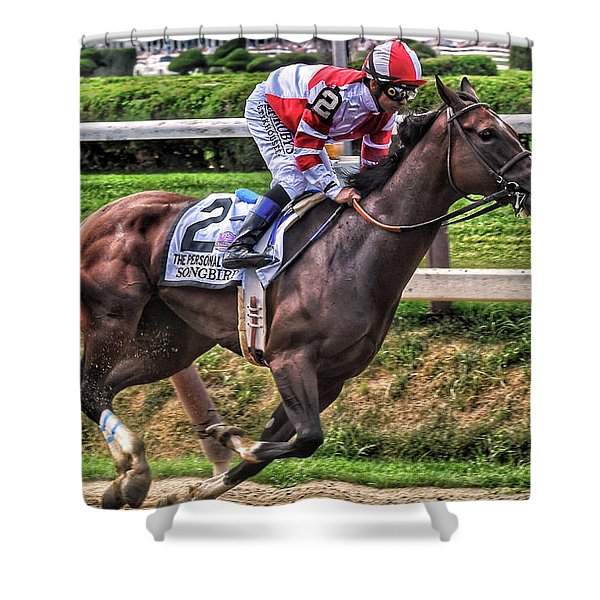 Songbird With Mike Smith Saratoga August 2017 Shower Curtain