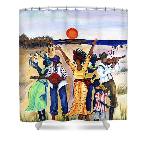 Songs Of Zion Shower Curtain