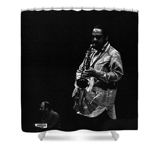 Sonny Rollins Shower Curtain