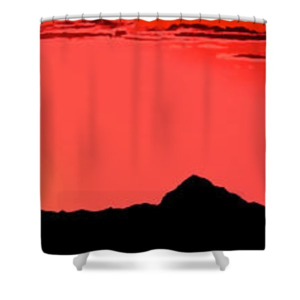 Sonoran Sunset  Shower Curtain