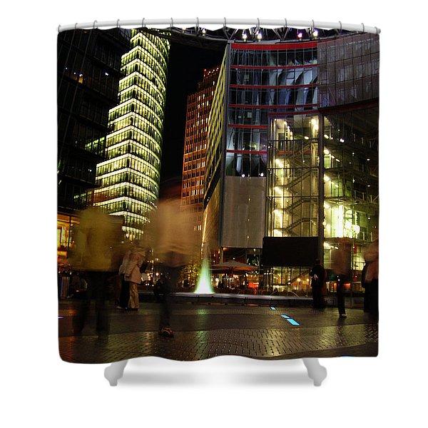 Sony Center Shower Curtain