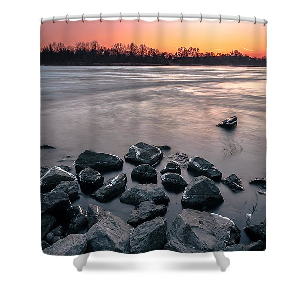 Soon To Be Frozen Shower Curtain