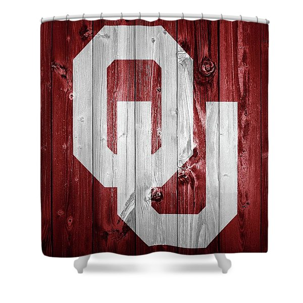 Sooners Barn Door Shower Curtain