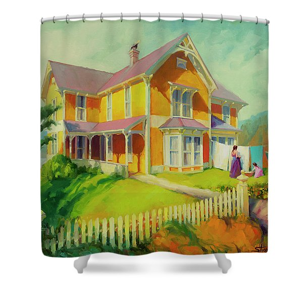Sophie And Rose Shower Curtain