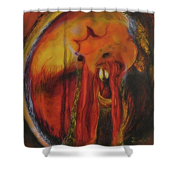 Sorcerer's Gate Shower Curtain